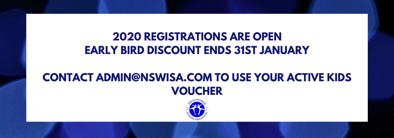 Registrations 2020