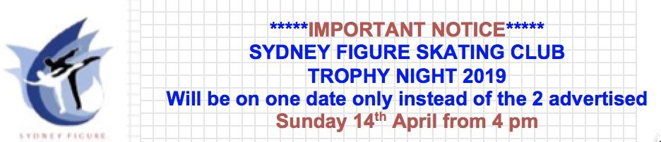 SFSC Trophy Night